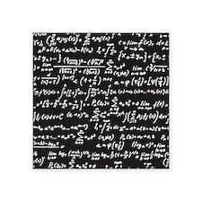 "Chalk/Blackboard Square Sticker 3"" x 3"""