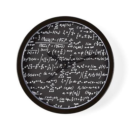 Chalk/Blackboard Wall Clock