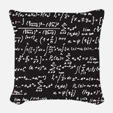 Chalk/Blackboard Woven Throw Pillow
