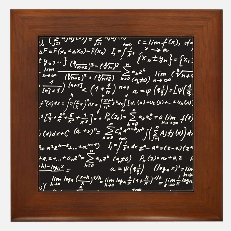 Chalk/Blackboard Framed Tile