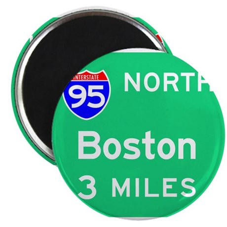 Boston MA, Interstate 95 North Magnets