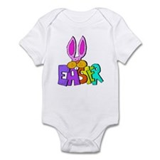 Rainbow Bunny Infant Bodysuit