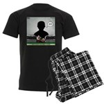 Railroading Counselor Men's Dark Pajamas