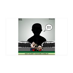Railroading Counselor Wall Decal