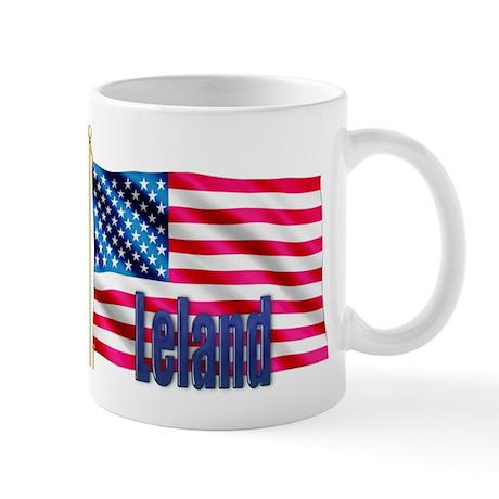 Leland American Flag Gift Mug