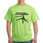 Trust me I'm a doctor, gynecology Green T-Shirt