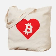 Love Bitcoin Tote Bag