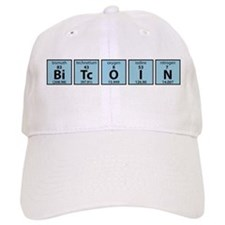 Periodic Table of Bitcoin Elements Baseball Baseball Cap