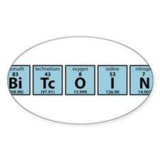Periodic Table of Bitcoin Elements Decal