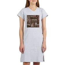 Coffee/Latte Women's Nightshirt
