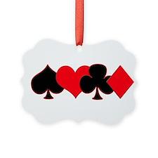 Card Suits Ornament