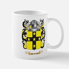 Warner 2 Family Crest (Coat of Arms) Mugs