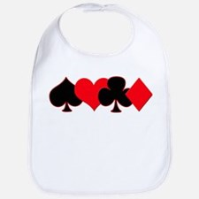 Card Suits Bib