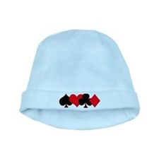 Card Suits baby hat