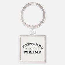 Portland Maine Keychains