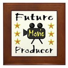 Movie Producer Framed Tile