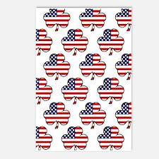 'American Shamrock' Postcards (Package of 8)