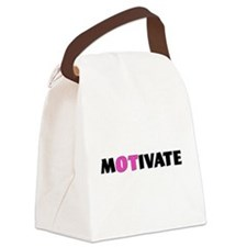 MOTIVATE Canvas Lunch Bag