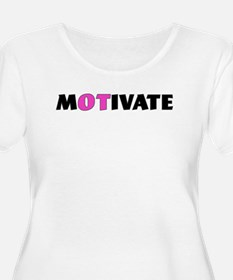 MOTIVATE Plus Size T-Shirt