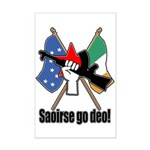 Saoirse go deo! Poster Print