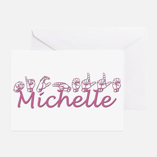 Michelle Greeting Cards (Pk of 10)