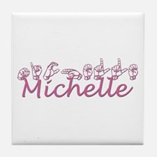 Michelle Tile Coaster