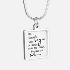 So There Is This Boy Who Stole My Heart Necklaces