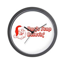 Don't Stop Believin' Wall Clock