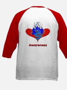 CHD Awareness Kids Baseball Jersey