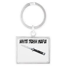 White Trash Mafia Switchblade Landscape Keychain