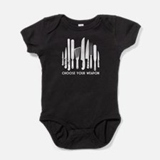 Choose Weapon Baby Bodysuit