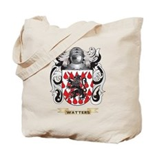 Watters Family Crest (Coat of Arms) Tote Bag