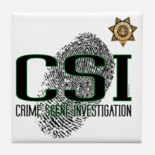 CSI Tile Coaster