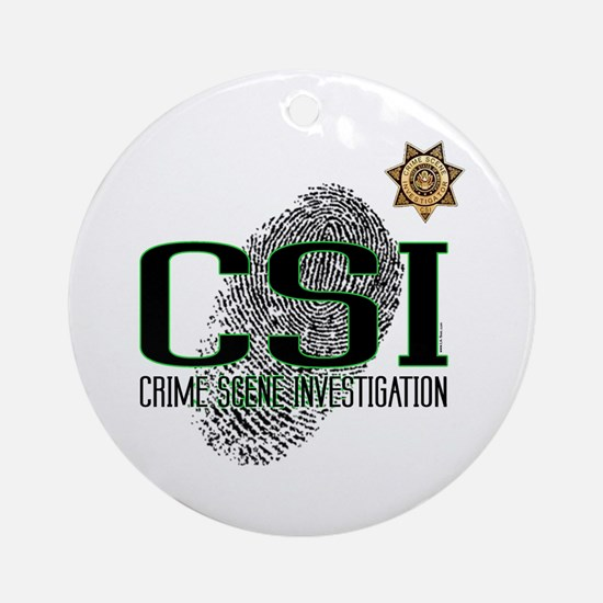 CSI Ornament (Round)