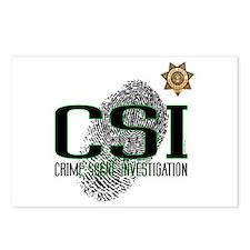 CSI Postcards (Package of 8)