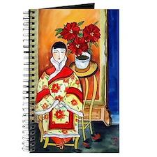 Vintage Painting -Oriental Art Journal