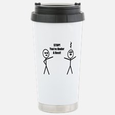 STOP! You're under a rest! Travel Mug