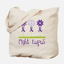 Lupus Awareness Daisy Tote Bag