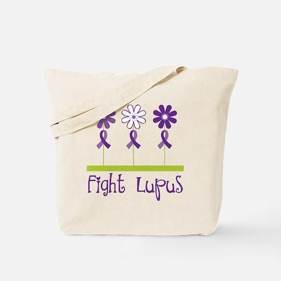 Lupus Awareness Daisy Tote Bag