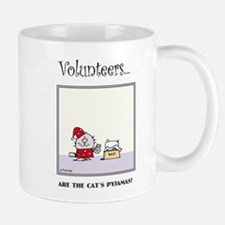 Volunteers Are The Cat's Pyjamas! Mugs