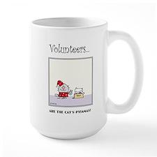 Volunteers Are The Cat's Pyjamas! Mugs