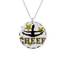 Cheerleader Gold and Black Necklace