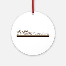 Destin, Florida Ornament (Round)