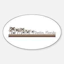 Destin, Florida Oval Decal