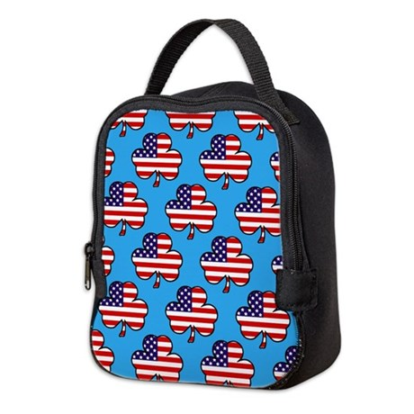 'American Shamrock' Neoprene Lunch Bag