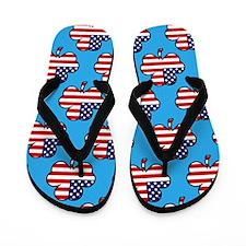 'American Shamrock' Flip Flops