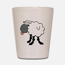 Sheepish  Shot Glass