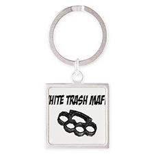White Trash Mafia Brass Knuckles Keychains