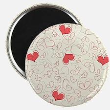 Forever Hearts  Magnet