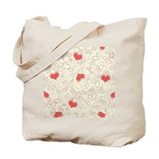 Forever Hearts  Tote Bag